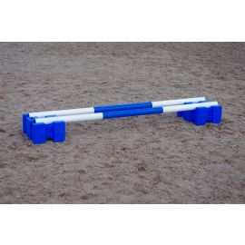 Buy Classic Showjumps Pair Parallel Blocks & 2 Poles - Online for Equine