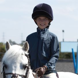 Buy Equetech Junior Hack-A-Mac Packable Jacket - Online for Equine