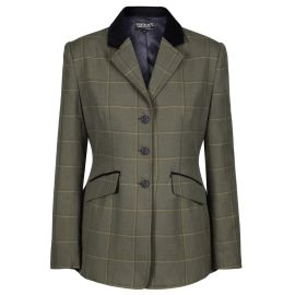 Buy Equetech Kensworth Ladies Tweed Riding Jacket - Online for Equine