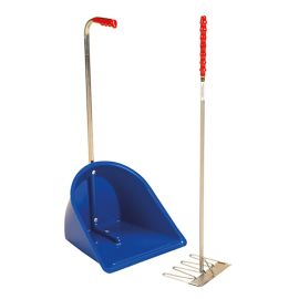 Buy Stubbs Tall Manure Scoop and Rake - Online For Equine