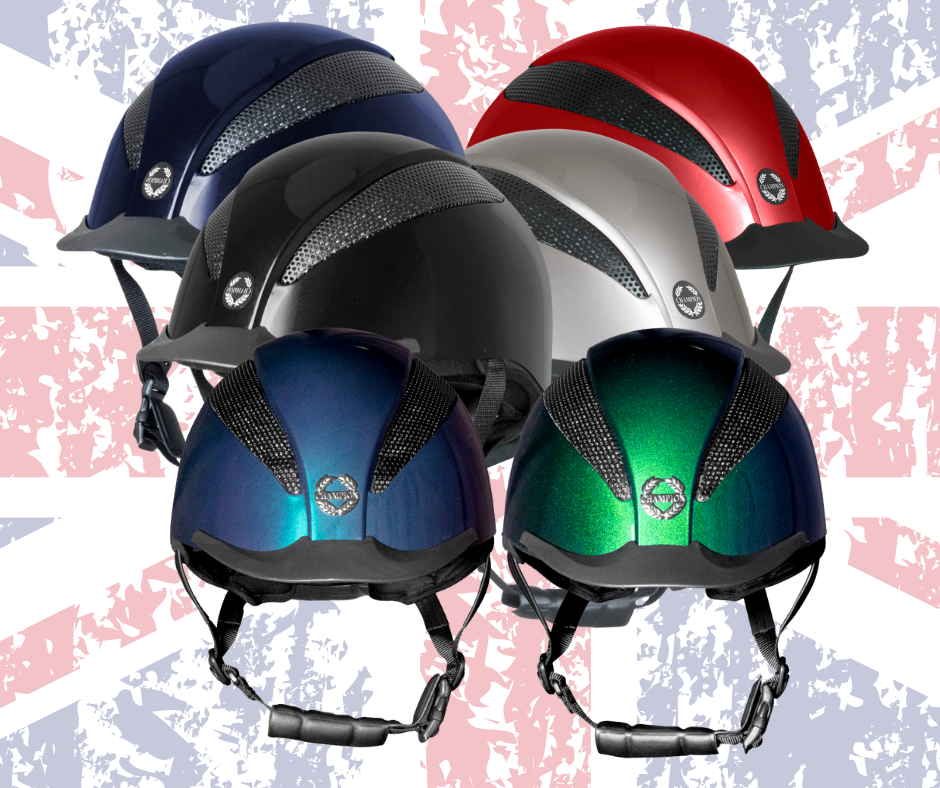 Champion Air Tech Deluxe Adjustable Riding Hat - Online for Equine